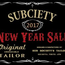 Subciety HEAD SHOP初売りのご案内