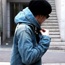 Staff Blog【NineMicrophones DENIM MODS COAT】