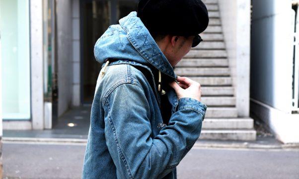 Staff Blog【NineMicrophones DENIM MODS COAT】
