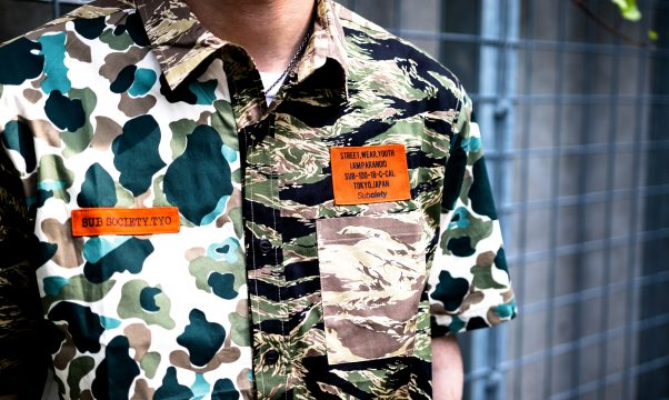 Staff Blog【Subciety MULTI CAMO SHIRT S/S】