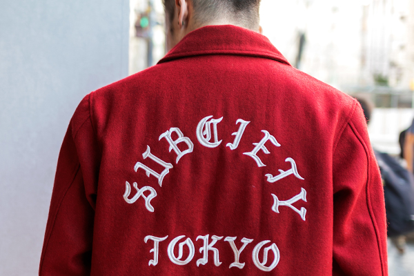 Staff Blog【Subciety VARSITY JACKET】