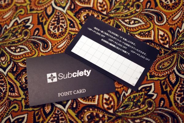 HEAD SHOP Point Card